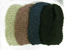 Ladies RJM Accessories Chunky Knitted Slouch Beanie Hat with Metallic Thread
