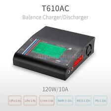 T610AC DC 120W Balance Charger w/ LCD Touch Screen for LiPo LiFe Battery F0X2