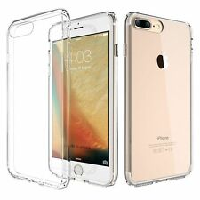 Phone Case Cover With Anti-Dust Plug Soft TPU Transparent for IPhone 7/ 7 Plus