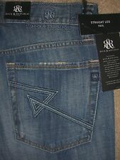 ROCK & REPUBLIC Straight Leg Neil Stone Cold Destructed Jean Men Size 32 New $88