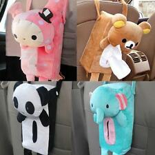 1Pcs Tissue Box Cover Soft Plush Bear Cover Car Accessories Home Hanging LJ