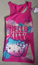 MARKS & SPENCER HELLO KITTY LONG LINE VEST TOP SIZES AGE 8, 9 & 12 YRS