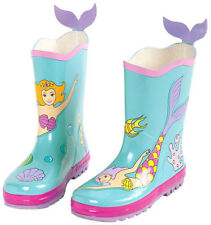 NEW Kidorable Mermaid Girls Kids Toddlers Wellies Rain Boots Gumboots