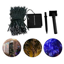 200 LED Solar Powered Fairy String Lights Garden Christmas Party Outdoor Lamp O4