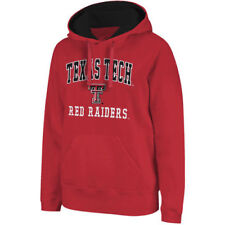Texas Tech Red Raiders Arch & Logo Mascot Pullover Hoodie - Red - NCAA