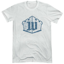 White Castle Monogram Mens Tri-Blend Short Sleeve Shirt WHITE