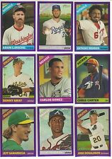 2015 TOPPS HERITAGE PURPLE REFRACTORS BASEBALL CARDS YOU PICK THE ONES YOU WANT