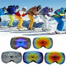 NICE Double Lens UV400 Anti-fog Spherical Ski Snowboard Skiing Glasses Goggle#