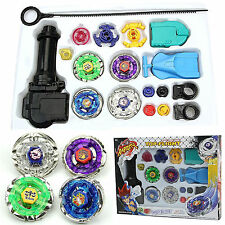 4D System Beyblade Top Fusion Metal Master Fight Rapidity Rare With Launcher Toy