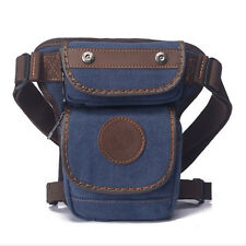 New Motorcycle Rider Drop Leg Bag Men Canvas Travle Climb Belt Waist Fanny Pack