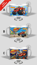 BLAZE AND THE MONSTER MACHINES PERSONALISED MUG ADD ANY NAME OR WITHOUT