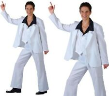Saturday Night Disco Fever Mens Fancy Dress Costume 70s Outfit S-XL