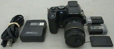 Konica Minolta Dimage A200 8.0MP Black Digital Camera Bundle Tested