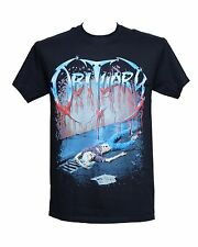 Obituary Shirt Slowly We Rot With Back Print Licensed Official Merchandise
