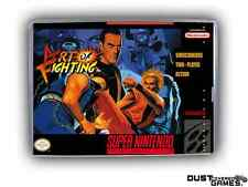 Art of Fighting Super Nintendo SNES Game Case Box Professional Quality!!!