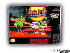 Daffy Duck: The Marvin Missions Super Nintendo SNES Game Case Box Professional Q