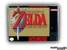 Legend of Zelda: A Link to the Past, The Super Nintendo SNES Game Case Box Profe