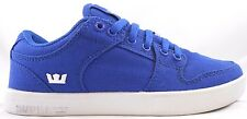 Supra Kids Vaider LC In Blue And White Sizes 3 To 4.5 In Boys Brand New In Box