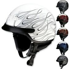 Z1R Nomad Hellfire Motorcycle Street DOT Protection Adult Helmets