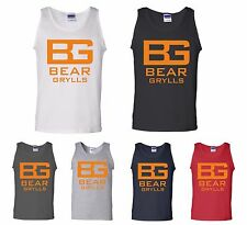 Bear Grylls Vest Ultimate Survivor Endeavour The Island Summer Holidays Tank Top