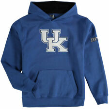 Kentucky Wildcats Stadium Athletic Youth Big Logo Pullover Hoodie - Royal - NCAA