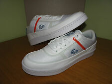 LACOSTE MENS COURT LINE FLX TRAINERS UK 9.5-10 (7-29SPM02992E8)
