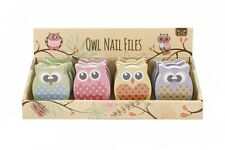 Owl shape Nail File, manicure, pedicure, Ideal Gift, fun mothers day present