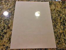 Glossy CLEAR inkjet printable vinyl - 10 pack (13in x 19in sheets)