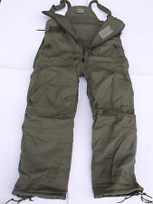 New US. Army Air Force Thick Insulated Nomex Overalls Cold Weather Pants CVC BIB