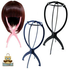New Folding Plastic Stable Durable Wig Hair Hat Cap Holder Stand Display Tool V3