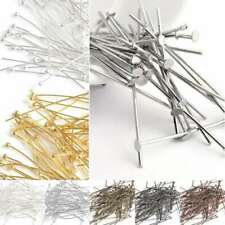 30g Iron Head Pins Jewelry Findings Beading Crafts 21 Gauge All Sizes BW