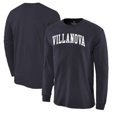 Villanova Wildcats Basic Arch Long Sleeve T-Shirt - Navy - NCAA