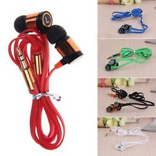 MP3 MP4 IPod PC Popular Hot Multicolor Bass 3.5mm Headphone Earphone In-Ear