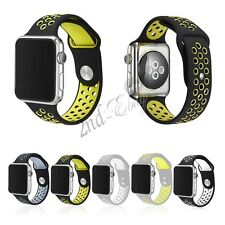Replacement New Silicone Sports Bracelet Watch Band iWatch Strap For Apple Watch