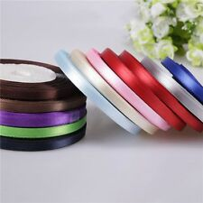 """Good Party Wrapping Sewing 3/8"""" Yards Bow New Ribbon Handicraft Wedding Satin"""
