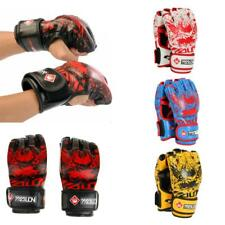 Half Finger Boxing Gloves for Grappling Fighting Punch Bag MMA Training Sparring