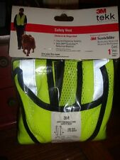 3M Reflective Clothing, Day and Night Safety Vest, New