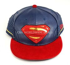 New Era 59fifty DC Comics Superman Fitted Armor Collection Hat Size 8