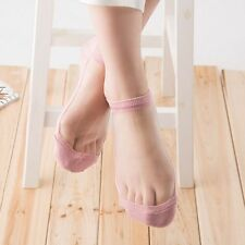 Sexy Beautiful Invisible Short Socks Crystal Prevent Slippery Lace Elastic