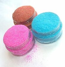 Iridescent Glitter size 008 Red Blue Pink Summer Nails 5g Bag/Pot
