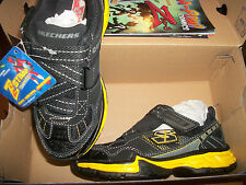 Skechers Zstrap Black and gold  Tennis shoes  Sz boys 13 New