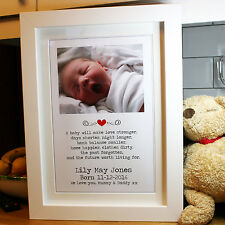 Your Personalised Photo & Text + Chunky Picture Frame 50 x 38cm OPTIONS