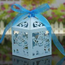 20Pcs Christmas Candy Chocolate Gift Sweets Boxes Ribbon Wedding Party Favor
