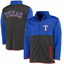 Texas Rangers Stitches Fashion Track Jacket - Royal - MLB