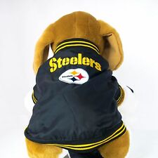 Pittsburgh Steelers Embroidered Dog Coat Team Jacket NFL Football Product