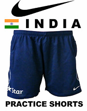 India Cricket 2017 BCCI Star T20 ODI Practice Training Blue Shorts Pants Dhoni