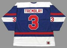 J.C. TREMBLAY Quebec Nordiques 1973 WHA Throwback Hockey Jersey