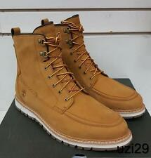 "NIB Timberland 6"" Boots  Britton Hill MOC Toe Wheat for Big Men's LAST Size 15"