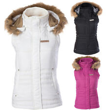 Divas Snow Gear Hooded Womens Skiing Winter Sled Snowmobile Vests