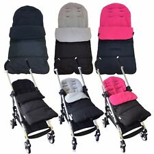 Universal Fleece Lined Luxury Pushchair/Stroller Footmuffs Cosy Toes (5 Colours)